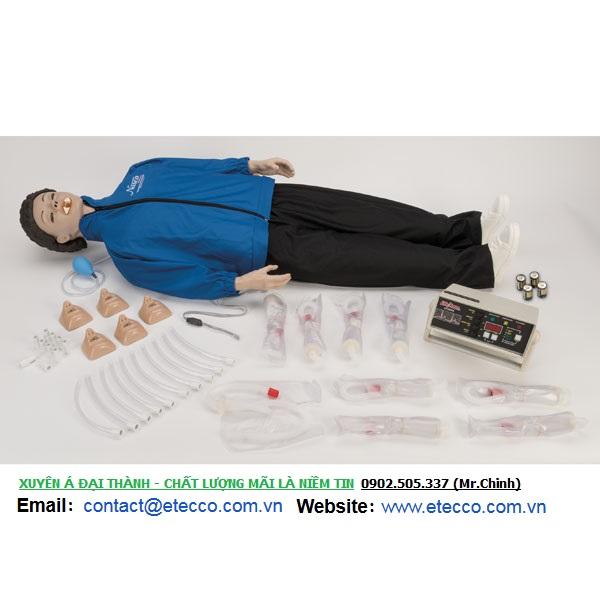 Bộ hình nhân toàn thân thực tập hô hấp NASCO