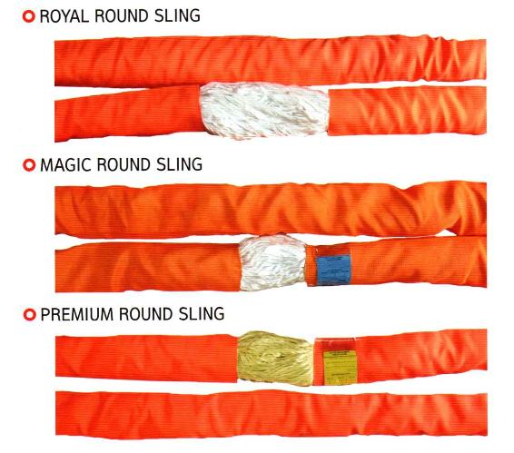 Cáp Vải Tròn 70 Tấn-Cáp Cẩu Hàng Hàn Quốc