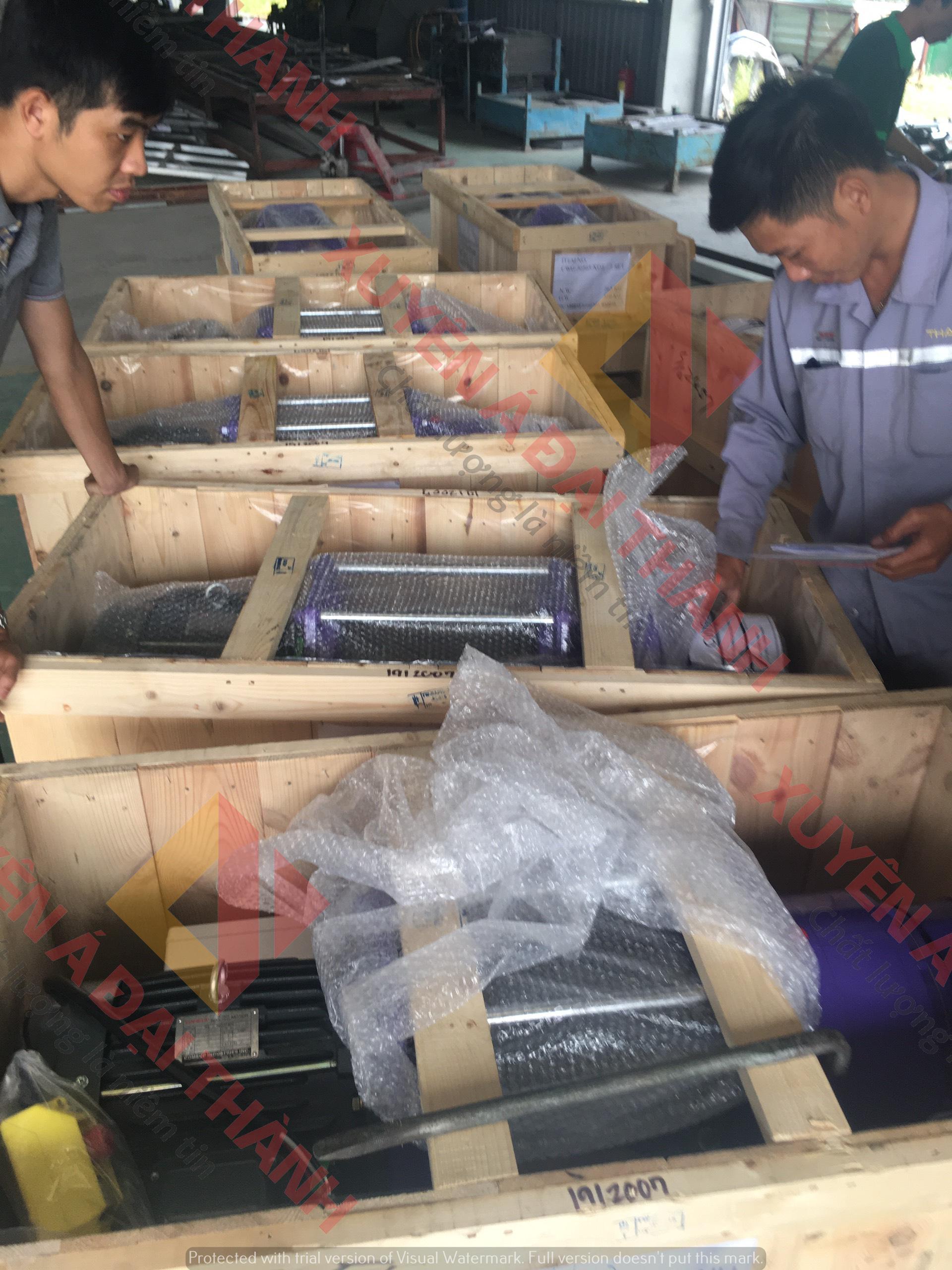 Tời Điện 1 tấn CP-750T x 21.3m cáp Đài Loan