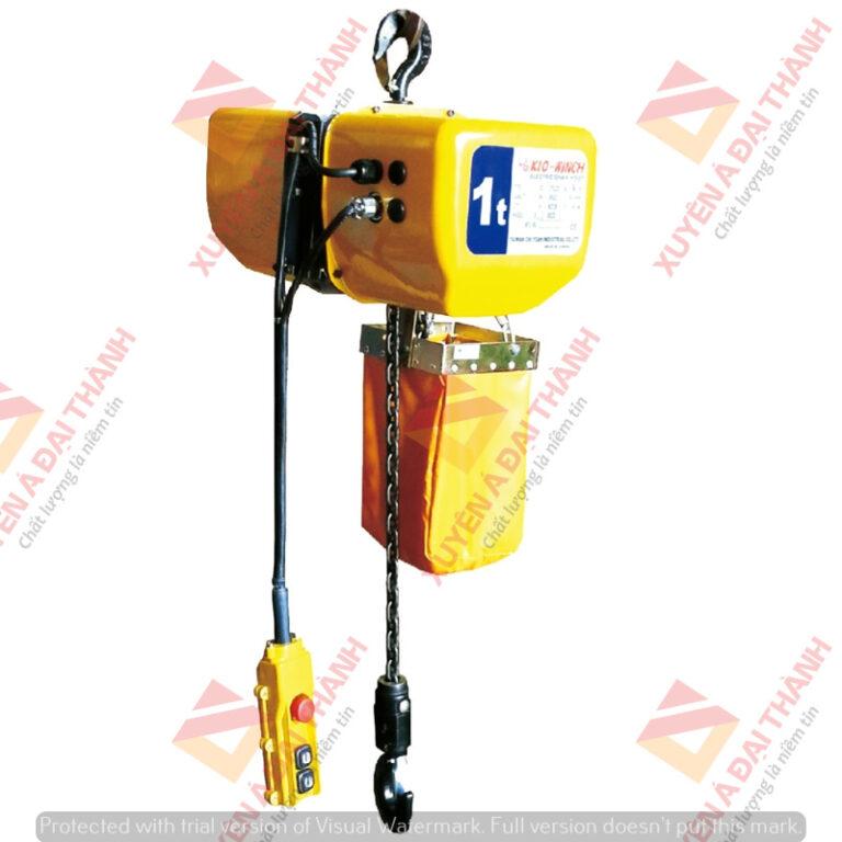 Palang Xích Điện Cố Định 1 tấn Kio Winch- Đài Loan- CX-1000