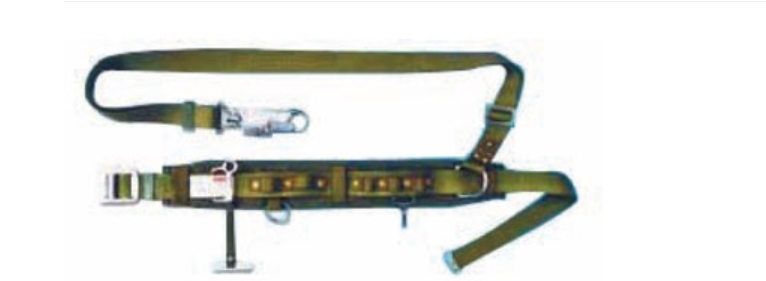 Dây Đai An Toàn Điện Lực Kiểu Thắt Lưng Haru - Đài Loan- HC-113B