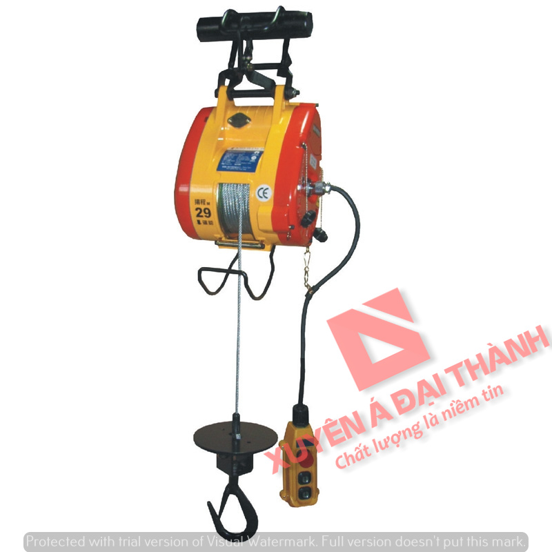 Tời treo mini 180 kg Đài Loan KIO WINCH KIO-180