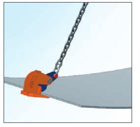 Kẹp nâng hạ Crosby (2-25 tấn) IPH10E/IPHOZ.