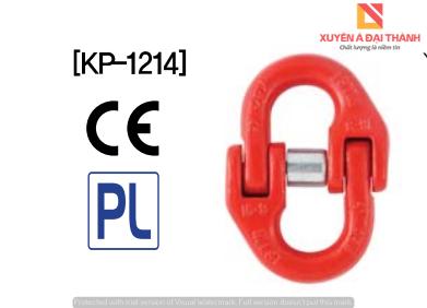 Khóa Nối Xích 1 Tấn - Mắt Nối Xích KBC Hàn Quốc Model KP-1214