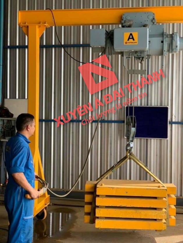 Palang Điện 500kg Hitachi Nhật Bản Loại Cáp Điện Đầu Thấp 1/2L-T55