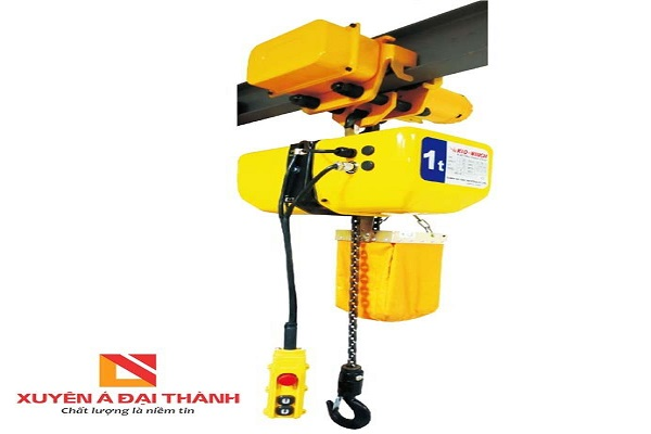 Palang Xích Điện 250kg - Chạy Trên Dầm - KIO Winch - Đài Loan CW-250T