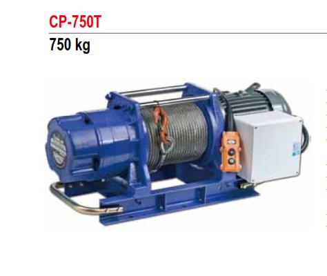 Tời Cáp Điện COMEUP Đài Loan Loại 750KG CP-750T