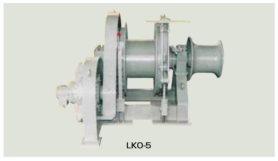 Tời điện Kondotec Nhật Bản loại thủy lực, động cơ (LKO/SBW).