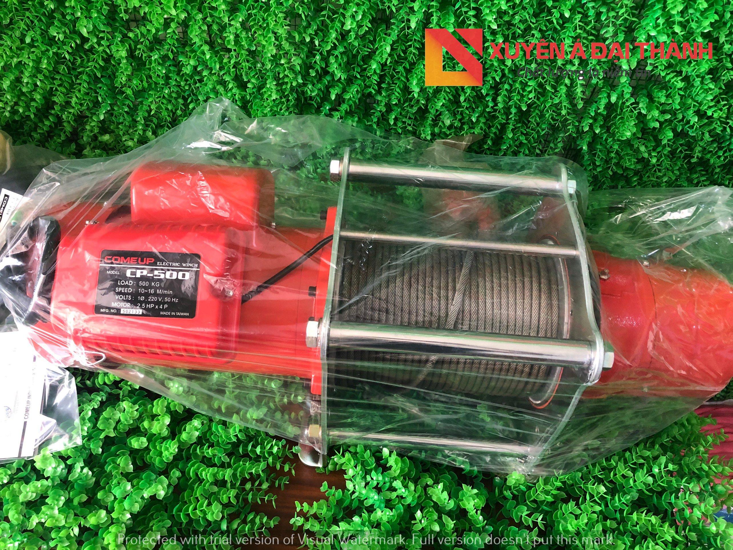 Tời Điện 500KG Đài Loan CP-500 & CP-500T COMEUP