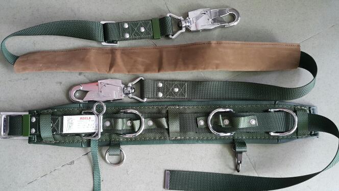 Dây an toàn 2 móc HARU HC-113D