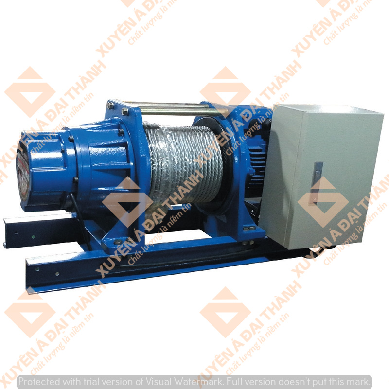 Máy tời điện công nghiệp 1 tấn Đài Loan KIO Winch GG-1060