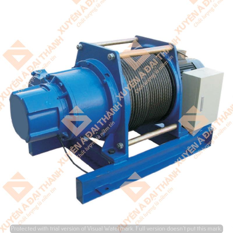 Máy tời điện 5 tấn Đài Loan KIO Winch GG-5000 chất lượng cao