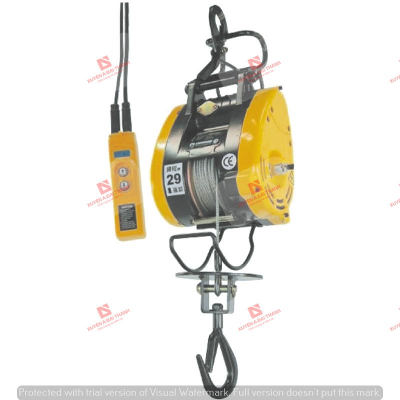 Tời treo mini 160kg Đài Loan KIO-WINCH SK-160