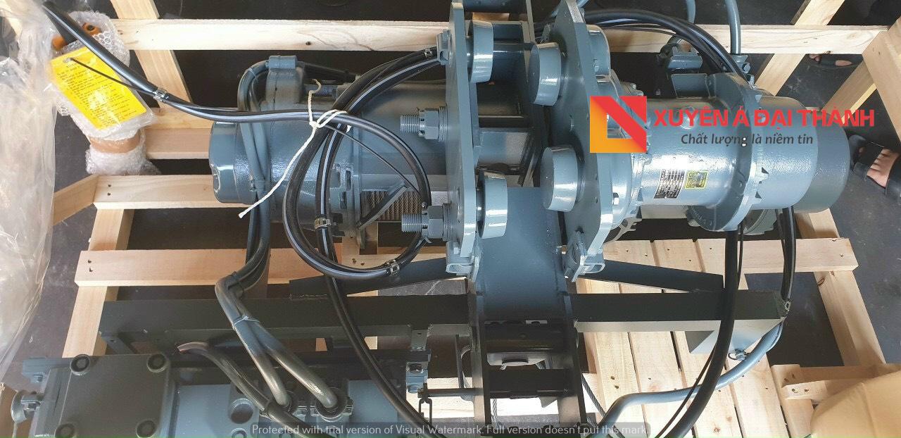 hình ảnh palang cáp điện Hitachi
